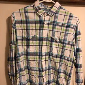 Express Pastel Button Down Shirt